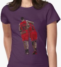 The Flu Game Womens Fitted T-Shirt