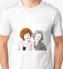 Rita and Mavis Kabin Drawing Unisex T-Shirt