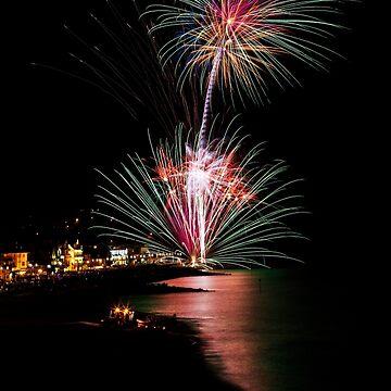Folk Fireworks by asabphotography