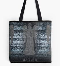 Weeping Angels and Static Tote Bag