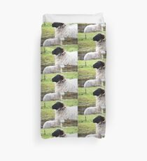 Smiley sheep Duvet Cover