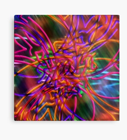 abstract one Metal Print