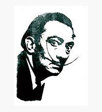 Salvador Dali Stencil Photographic Print
