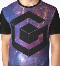 Camiseta gráfica Galaxy Cube