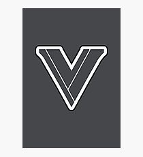 Street Fighter V Logo Photographic Print
