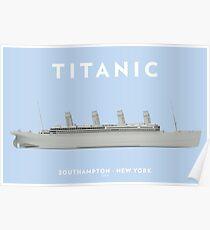 RMS Titanic Cruiser boat Poster