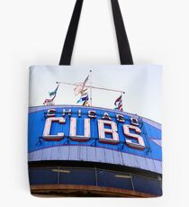 wrigley field bleachers Tote Bag