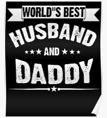 Worlds Best Husband Posters Redbubble