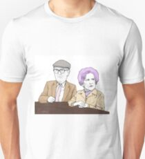Coronation Street Classic Phyllis Pearce and Percy Sugden  Unisex T-Shirt