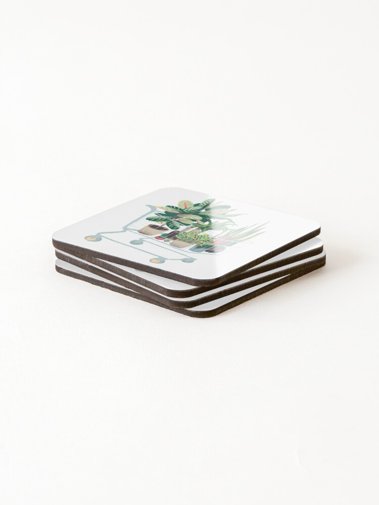 Alternate view of Plant friends Coasters (Set of 4)