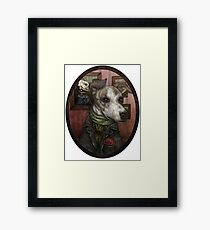 Dorian Greyhound  Framed Print