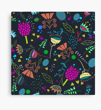 nightgarden Canvas Print