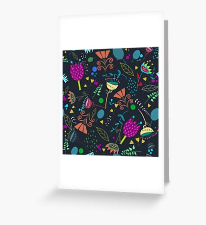 nightgarden Greeting Card