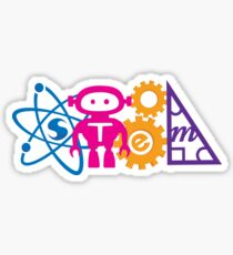 STEM! horizontal Sticker