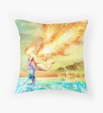 Alba. Throw Pillow
