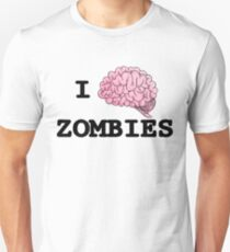 I Brain Zombies - T-shirt Unisex T-Shirt
