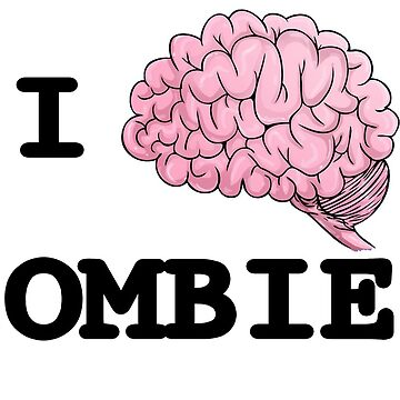 I Brain Zombies - T-shirt by GeeklyShirts