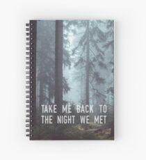 The Night We Met Spiral Notebook