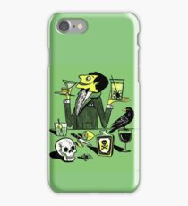 Drinks With The Mad Scientist Next Door iPhone Case/Skin