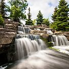 Richmond Green Waterfall by John Velocci