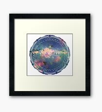 Stargate to the Galaxy Framed Print