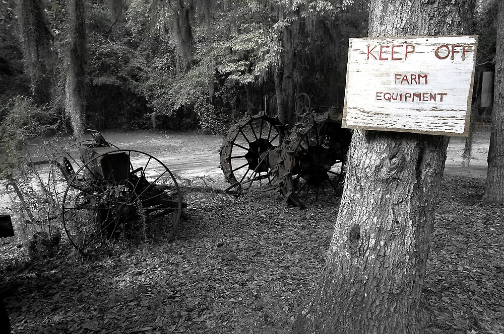Keep Off the Equipment by Scott Hansen