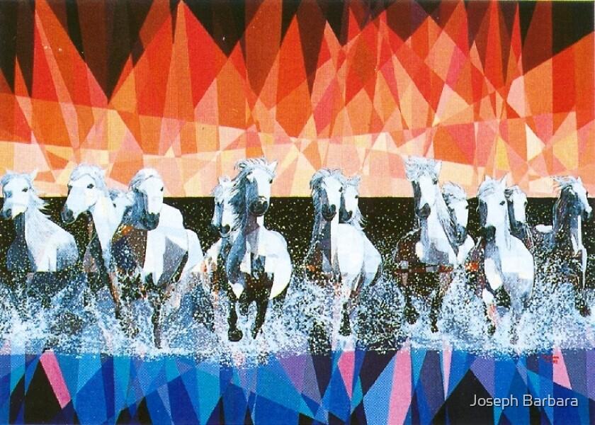 Prismatic Stampede 1993 by Joseph Barbara