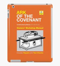 Owners Manual - Ark of the Covenant iPad Case/Skin