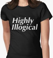 Highly Illogical Women's Fitted T-Shirt