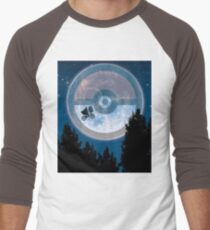 E.T PokeMoon Scene Men's Baseball ¾ T-Shirt