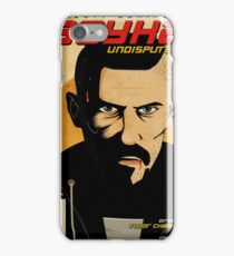 Undisputed 4 Fan Poster as Graphic Novel iPhone Case/Skin