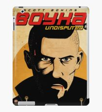 Undisputed 4 Fan Poster as Graphic Novel iPad Case/Skin