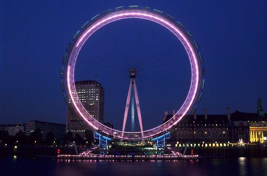 London Eye by Kasia Nowak