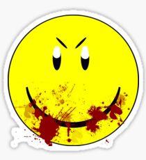 Zombie Smiley - T-shirt Sticker