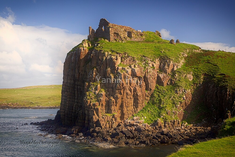 Duntulm Castle, Isle of Skye, Scotland by Yannik Hay