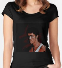 Bruce Lee Women's Fitted Scoop T-Shirt