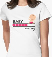 Baby loading... Women's Fitted T-Shirt