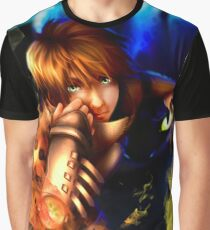 The soul of a dragon - HTTYD2 fanart Graphic T-Shirt