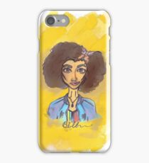 Bill Potts Digital Yellow Watercolour Print Doctor Who iPhone Case/Skin