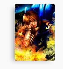 The soul of a dragon - HTTYD2 fanart Canvas Print