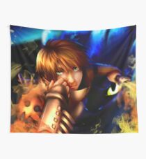 The soul of a dragon - HTTYD2 fanart Wall Tapestry