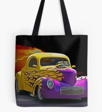 1941 Wild Willys Coupe Tote Bag