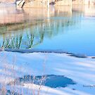 Winter Reflections on the River by Yannik Hay