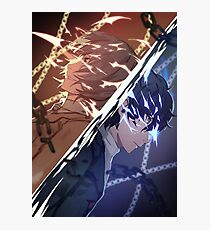 Persona 5 Thief or Justice Photographic Print