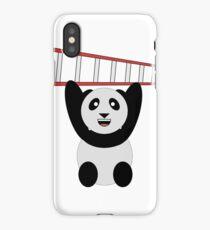 WWF Panda Vintage Ladder  iPhone Case/Skin