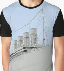 RMS Titanic Cruiser boat Graphic T-Shirt