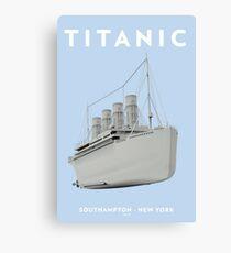 RMS Titanic Cruiser boat Canvas Print