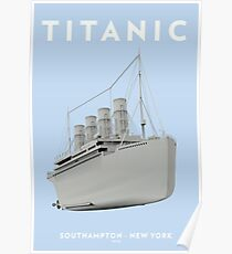 RMS Titanic Cruiser boat Poster