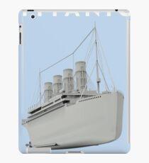 RMS Titanic Cruiser boat iPad Case/Skin