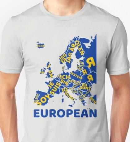 I am European T-Shirt